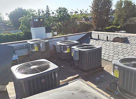 Rooftop Air Conditioning & Heating Systems